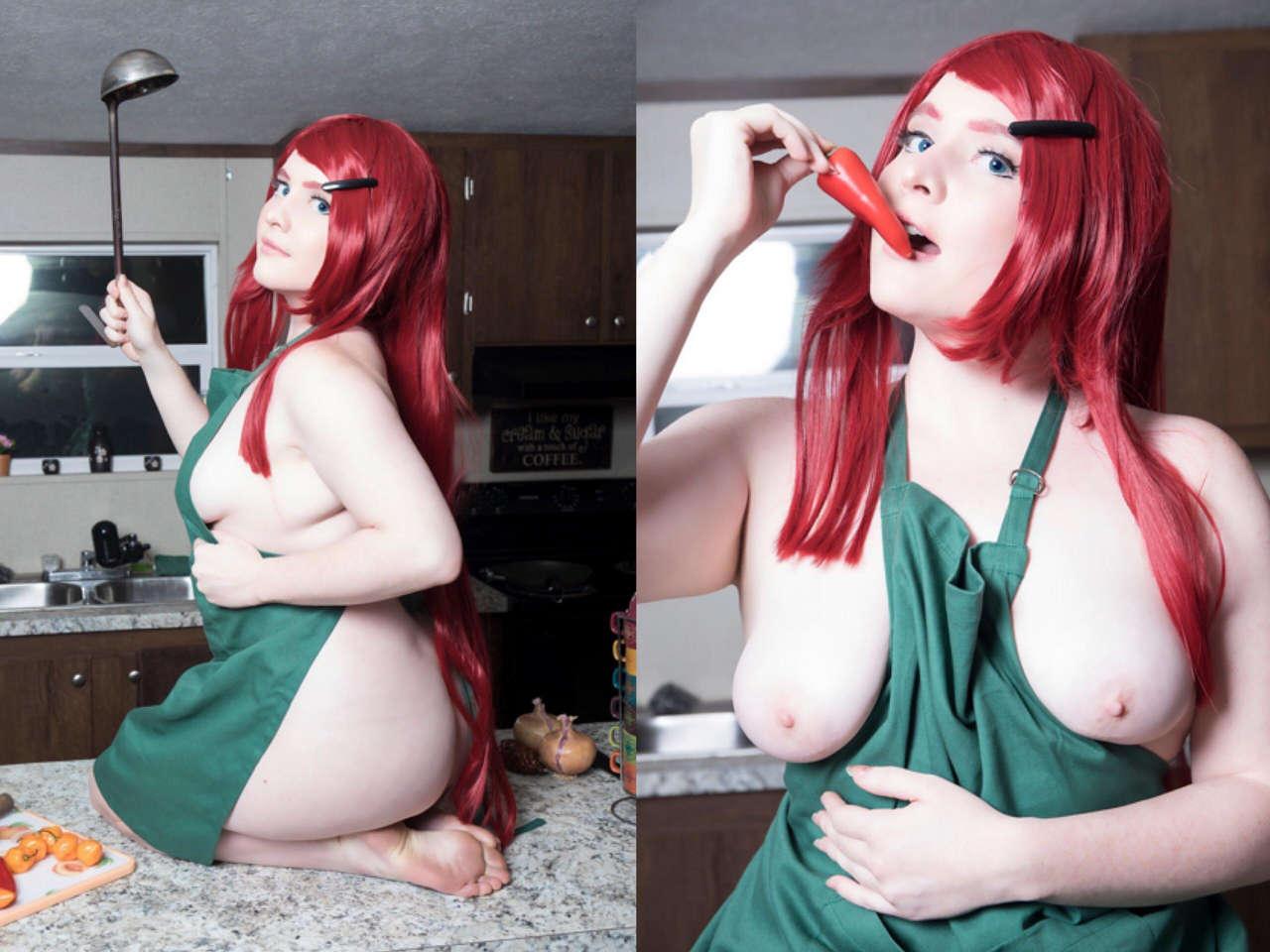 Foxy cosplay nude