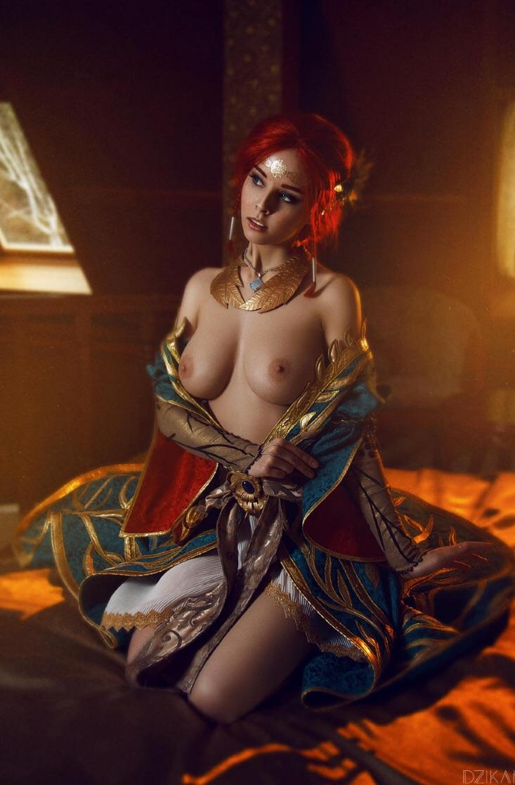 Cosplay triss nude Triss Merigold