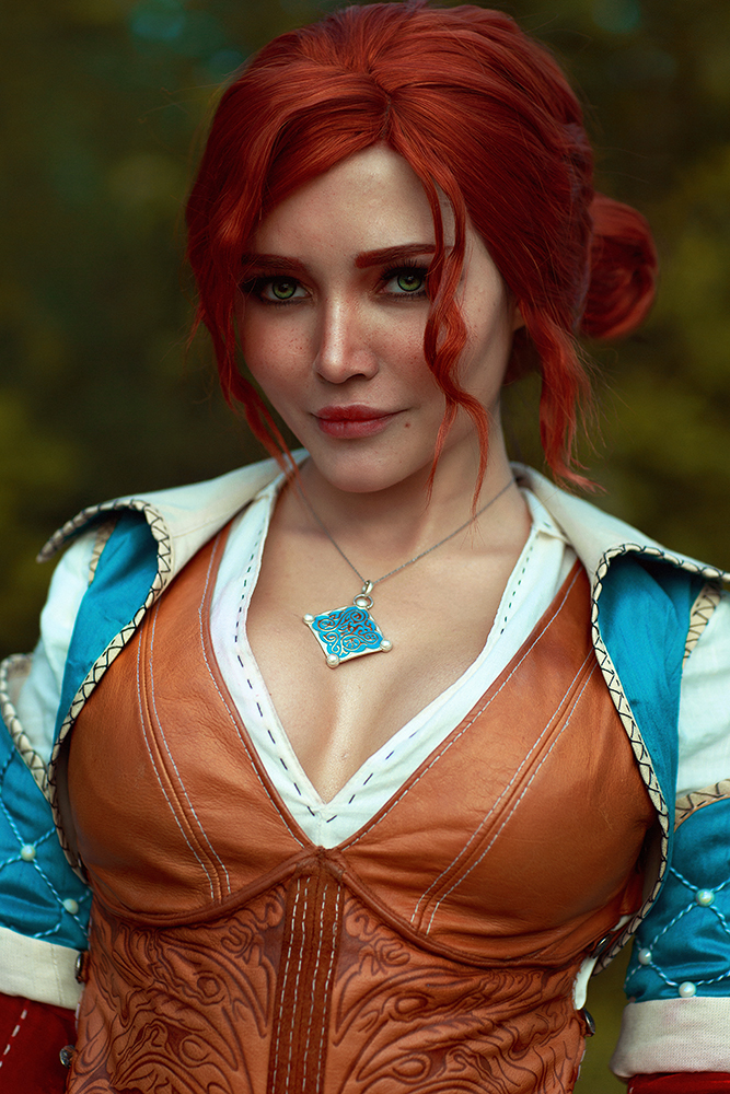 Nude cosplay triss Triss Merigold