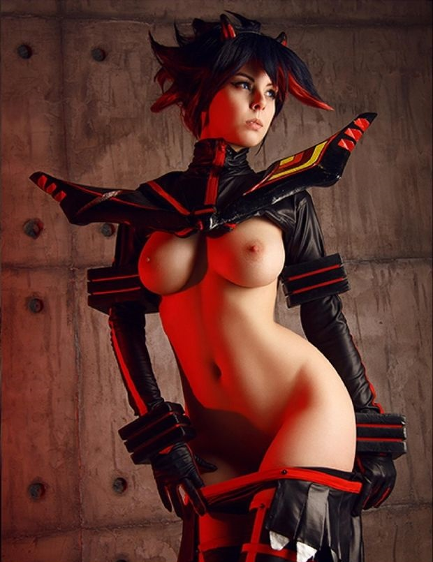 Cosplay topless Category:Female toplessness