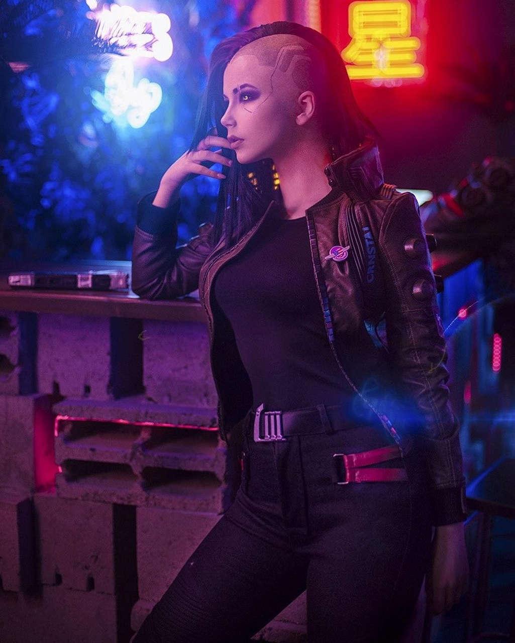 Female V From Cyberpunk By Oichi - cosplaygirls.net