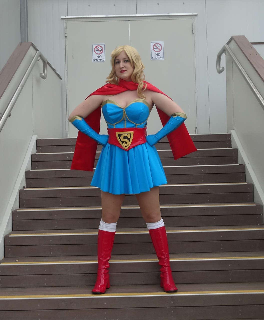 Self Princessjazzcosplay As Bombshells Supergirl