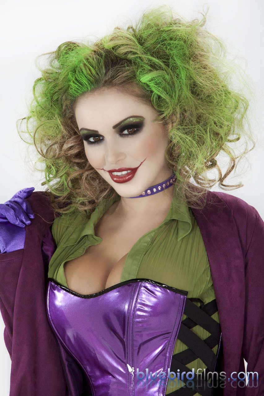 Gemma Massey As Harley Quinn From Makeupfetish