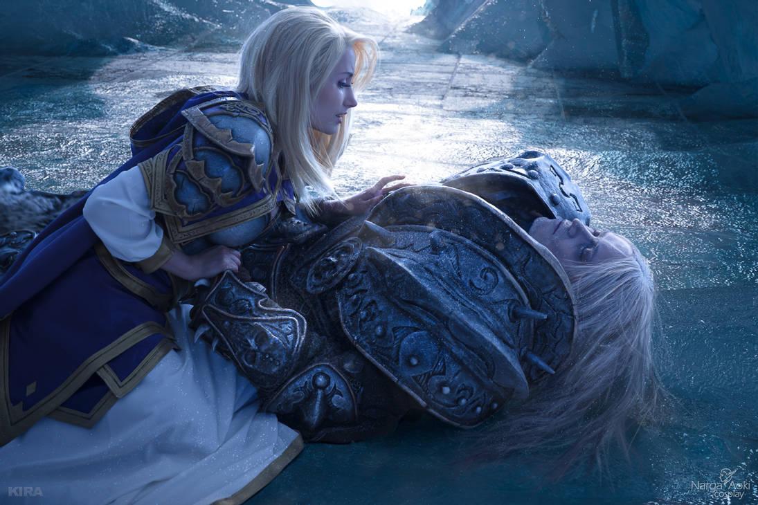 Arthas And Jaina Fall Of The Lich Kin