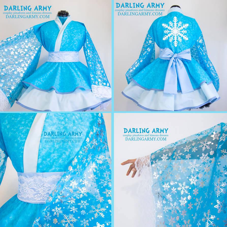 Elsa Kimono Dres