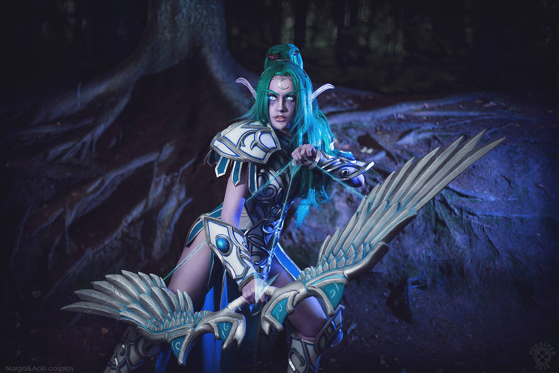 For Kalimdor Tyrande Whisperwind Hots W