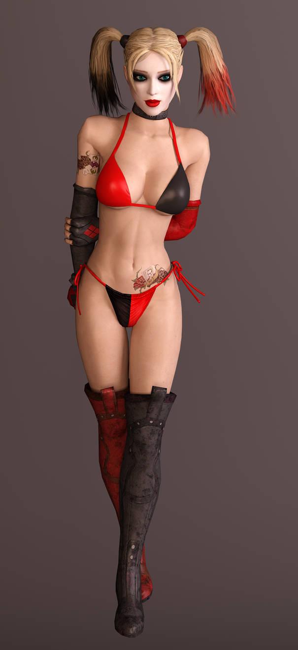 Harley Quinn Bikini 0