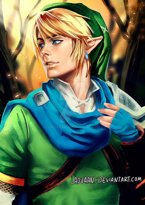 Link Hyrule Warriors Painte
