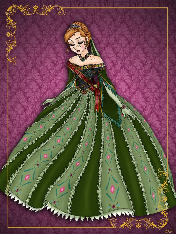 Queen Anna Disney Queen Designer Collectio