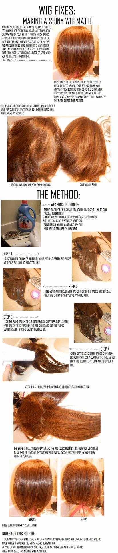 Wigs Taking Away Wig Shin