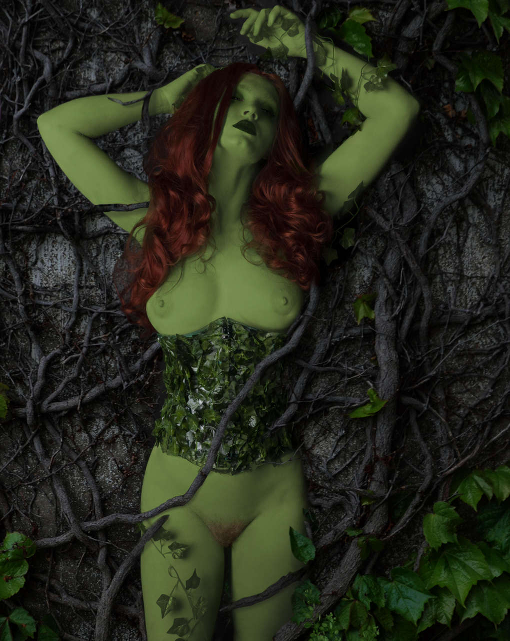 Homemade Poison Ivy From Dc Comics By Your Virtual Sweethear
