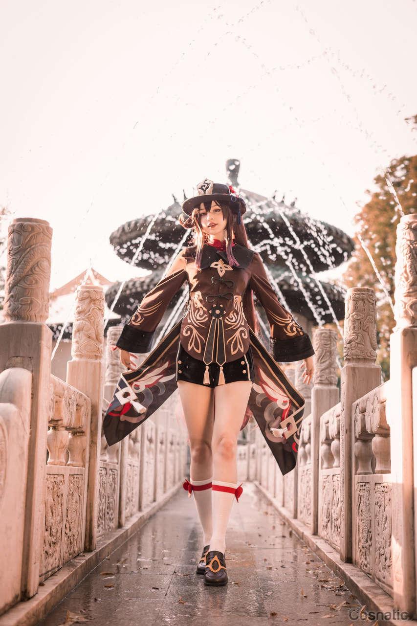 Hu Tao From Genshin Impact By Tenletter