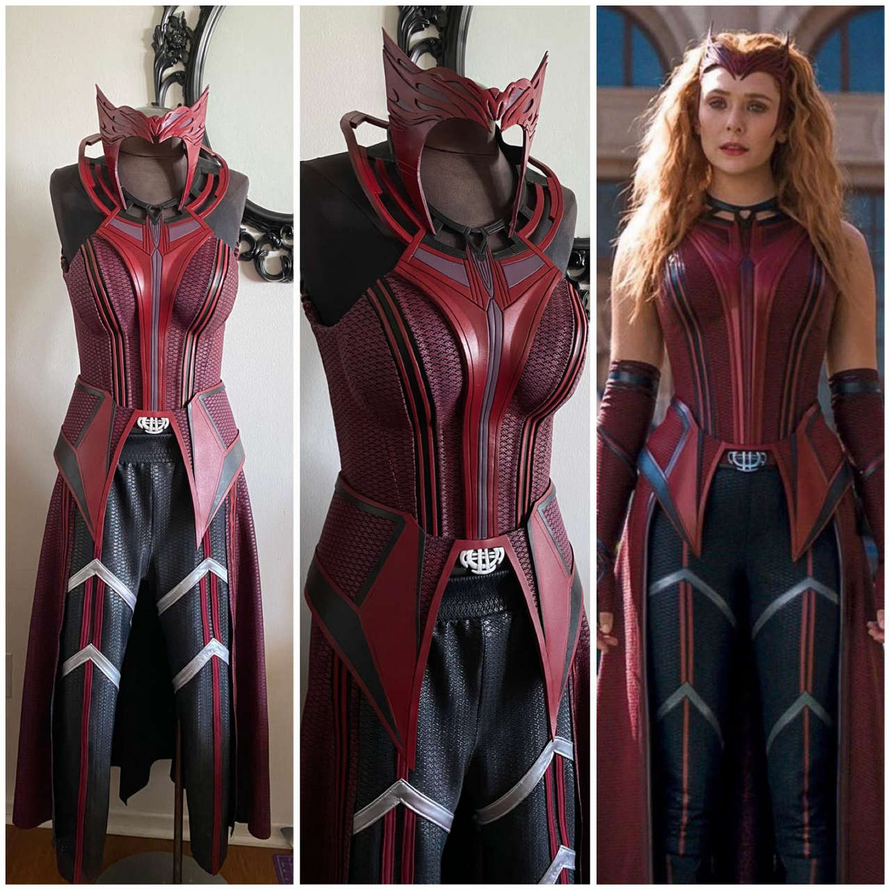My Wandavision Scarlet Witch Suit Wi