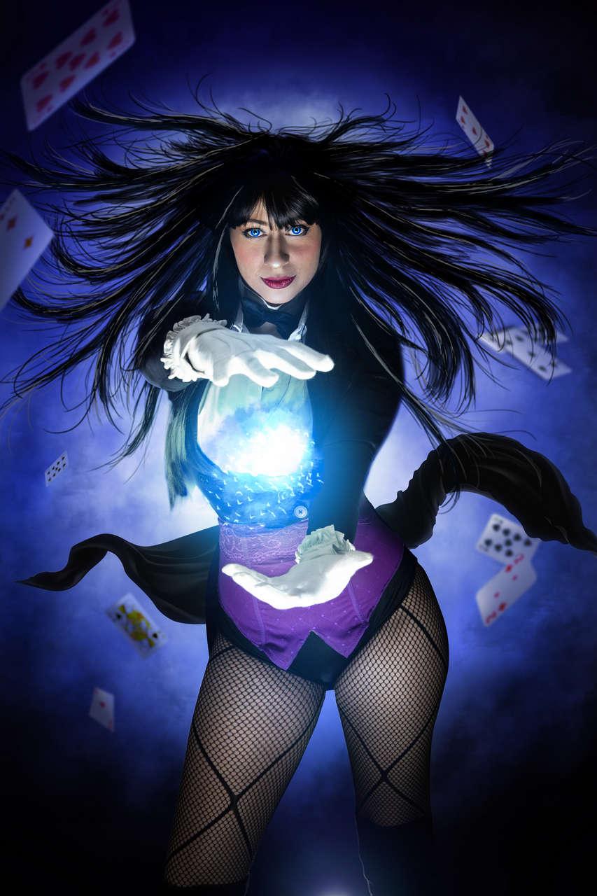Zatanna Zatara By Darkncute Vir Cosplay Rk